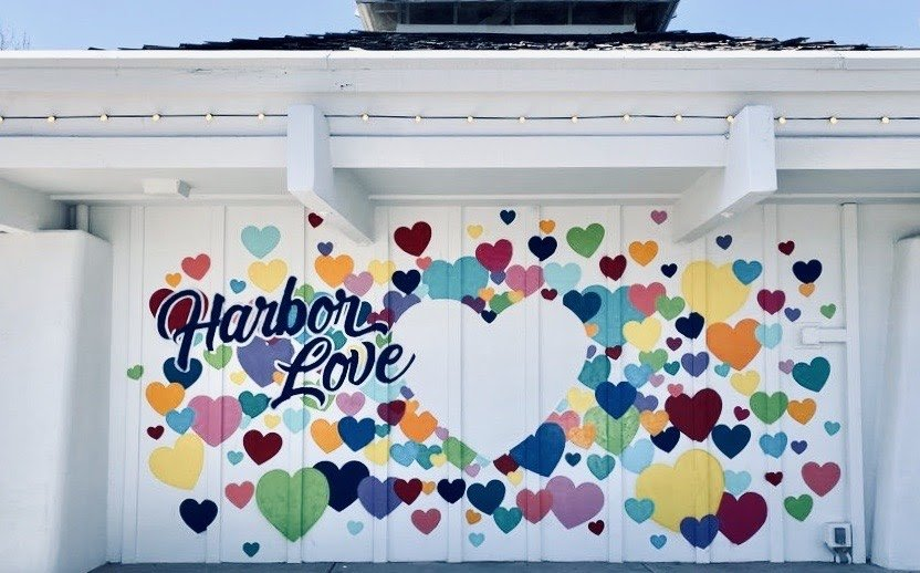 Dana Point Harbor Love Wall