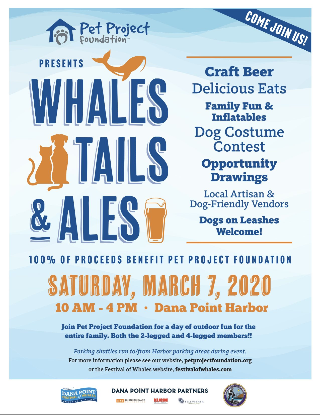 Whales, Tails & Ales