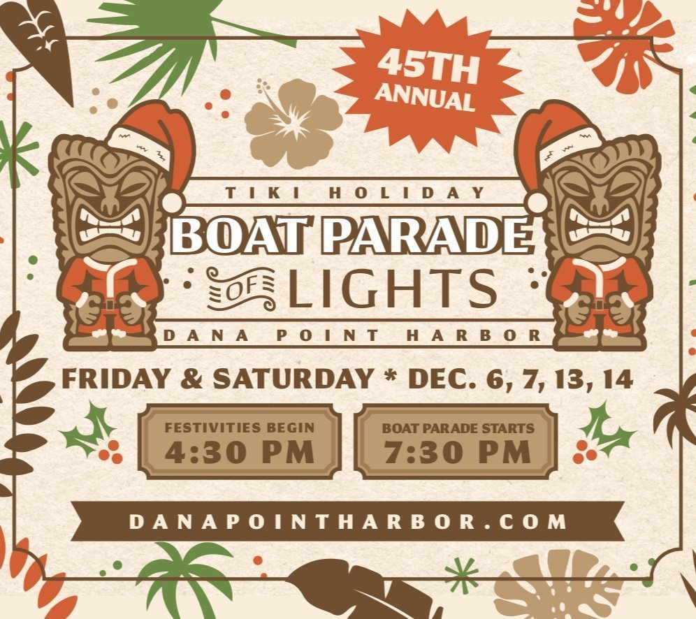 45th Annual Boat Parade of Lights @ Dana Point Harbor