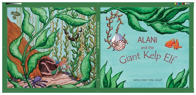 Alani And The Giant Kelp Elf
